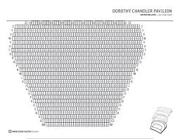 Chandler Arts Center Seating Chart Seating Chart Dorothy Chandler Pavilion