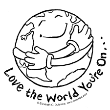 Small Picture Planet Earth Earth Day Coloring Page For Kids coloring page