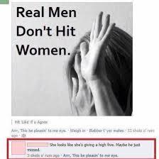 Richtige Männer Schlagen Keine Frauen
