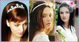 Krásné Svatební účes S Vlasy Se Závojem Diadém