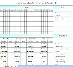 Weekly Chores List Template Household Schedule Template Home Chores Schedule Template