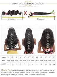 Hair Length Chart Bundles Body Wave Virgin Hair Weave 3 Bundles With Lace Closure