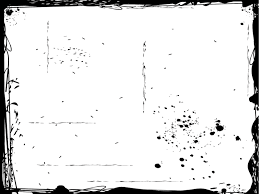 Black Spots Powerpoint Templates Black Border Frames White