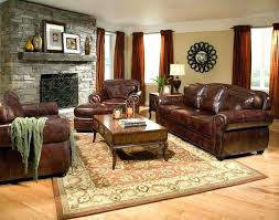 rugs for brown couches furniture living room color schemes with leather plus wooden coffee table and sofa design ideas also laminate best