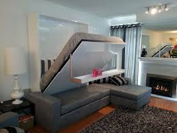 livingroom beautiful murphy over sofa plans with and desk combo couch diy wall attached murphysofa