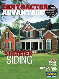 Maibec Siding Colors Chart Contractor Advantage July August 2012 By Espress Labs Inc