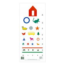 Color Vision Testing Chart Preschool