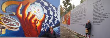 the great wall of los angeles mural restored on wall mural artist los angeles with the great wall of los angeles mural restored joe bravo chicano art