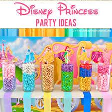 Disney <b>Princess Party Ideas</b> - Made by a Princess