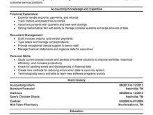 Forensic Accountant Resume Free Resume