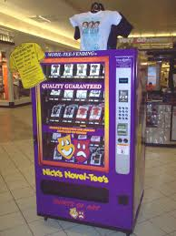 T Shirt Vending Machine Gorgeous TShirt Vending Machines Purchase Work Cost Interest
