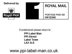Printed First Ppi Class Labels