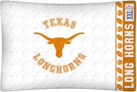texas longhorns micro fiber standard pillow case from kentex