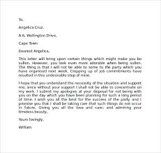Apology Letter Perfect Way To Express Your Emotions