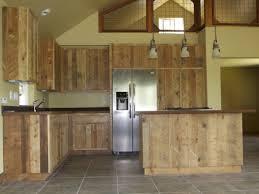 Barn Wood Kitchen Cabinets Custom Kitchen Islands Reclaimed Wood Kitchen Islands