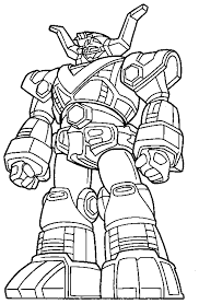 Small Picture Cool Power Ranger Robot Coloring Pages Cartoon Coloring pages of
