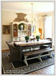 Farmhouse French Country Dining Room Crossbuck Wainscoting From My Front  Porch To Yours.