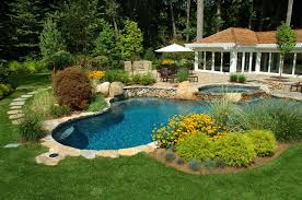 Swimming Pool Landscaping Designs Best Swimming Pool Landscaping Pictures Latest Pool Landscaping