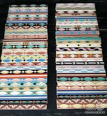 Decorative Tile Strips Where to get hand painted bathroom liner tiles 60 vintage 9