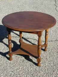 antique wood end tables round antique coffee table antique furniture antique round