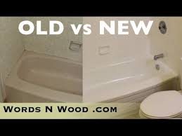 Refinish Bathroom Tile Stunning DO NOT PAINT YOUR BATHTUB WnW 48 YouTube