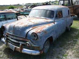 1952 to 1954 Chevrolet Sedan Delivery for Sale