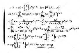 Math Formulas Vector Illustration Stock Vector Vabadov