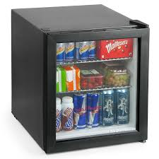 bar drinkstuff frostbite mini fridge black 49ltr compact refrigerator holds 45 x 330ml cans