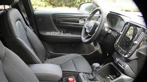 2018 volvo interior. brilliant volvo 2018 volvo xc40 new spy shots including interior cabin  motor1com photos inside volvo