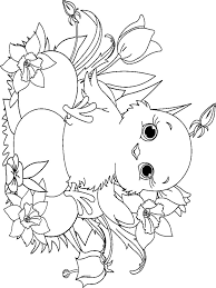 Small Picture Baby Chick coloring pages Download and print Baby Chick coloring