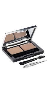 eyebrow shadow. brow artist genius kit - light/medium eyebrow shadow