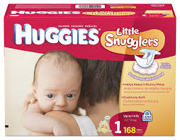 Little Snugglers Size Chart Huggies Little Snugglers Diapers Size 1 168 Count