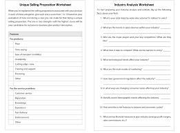 Marketing Business Plan Template The Essential Guide To Writing A Business Plan Worksheets 15