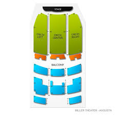 Miller Theater Augusta Seating Chart Miller Theater Augusta Tickets