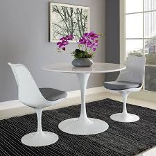 collection of solutions modway lippa 40 wood top dining table in white unique 40 inch round dining table