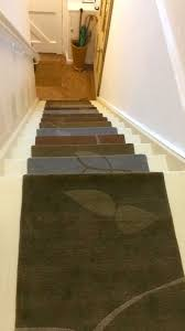 Alto Steps From Liza Phillips Design Hand Knotted Wool Stair Tread Rugs Spring Woods Alto