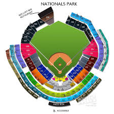 Washington National Seating Chart Views Nationals Park Baseball Stadiums