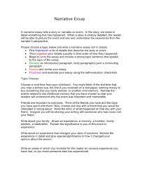 8 Narrative Essay Templates Pdf Free Premium Templates