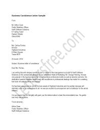 Condolence Letter Example Condolence Letter Business Condolence Letter A Letter Of Condolence 24