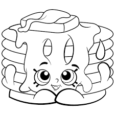 Shopkins Coloring Pages Cartoon Coloring Pages Shopkins
