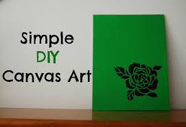 Diy Canvas Art Diy Canvas Art Crafthubs