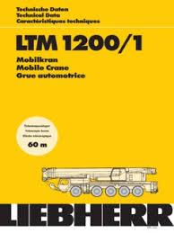 Liebherr Ltm 1200 1 Specifications Cranemarket