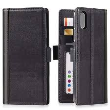 iphone xs iphone x wallet case leather ipulse journal series italian full grain leather
