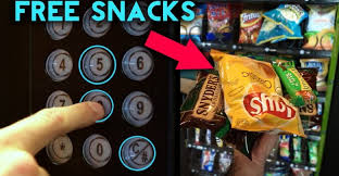 How To Get Free Candy From A Vending Machine Interesting TOP 48 Vending Machine Hacks Get FREE Food And Soda From ANY