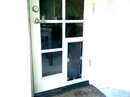 cat door sliding glass