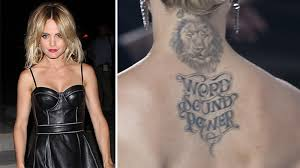 Tetování Jako Módní Doplněk Novinkycz