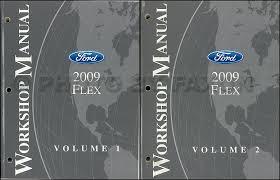 2009 ford flex wiring diagram manual original 2009 ford flex repair shop manual original 2 volume set 159 00