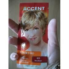 Test Tönung Accent Color 2 Go Farbe 803 Bourbon Testbericht