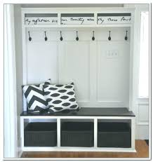 Hall Storage Bench And Coat Rack