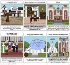 Martin Luther Storyboard Par Ldwan